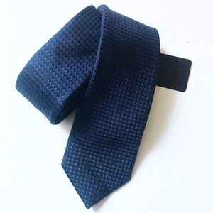 topman / nwt new blue men's long skinny tie